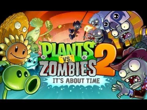 لعبة النباتات ضد الزومبي 2