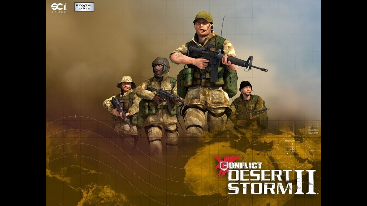 لعبة حرب العراق عاصفة الصحراء 2
