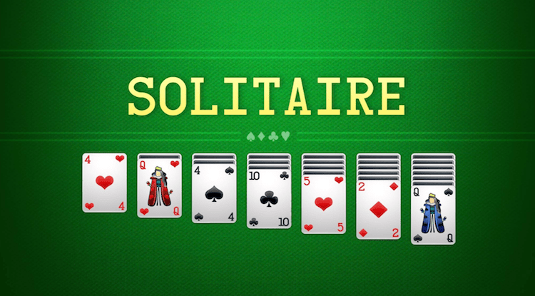 لعبه solitaire