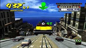 مميزات لعبة crazy taxi